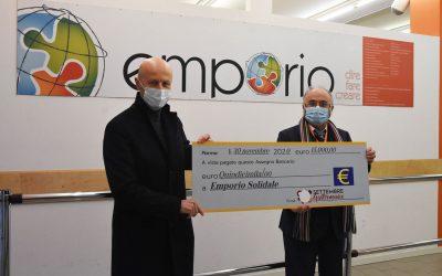 """Devoluti 15.000 euro a Emporio Solidale Parma grazie a """"Settembre Gastronomico"""""""